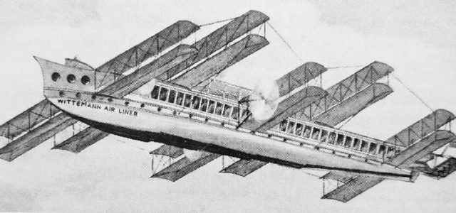 Largest Flying Boat Never Built—the Witteman Air Liner