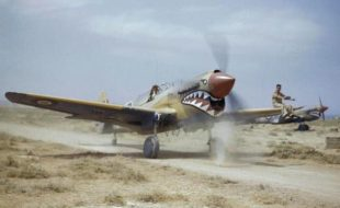 Flying Tigers P-40 Recovery