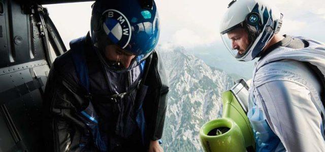 BMW Electric Wingsuit reaches 186mph!