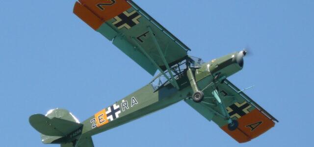 Fieseler Storch: First STOL Aircraft