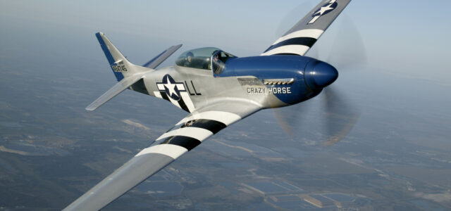 Enter today for a chance to fly in a P-51!